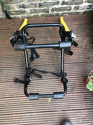 Universal Car Rear Boot Mounted 2 Cycle Carrier Holder Two Bike Bicycle Rack