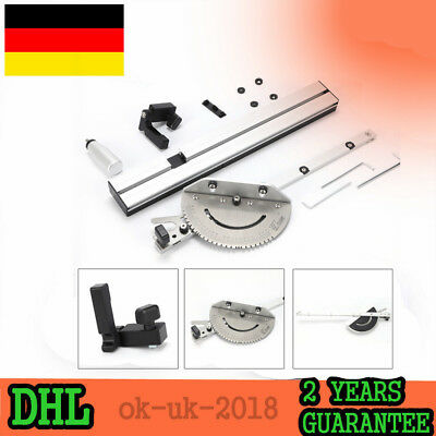 """450MM Gehrung Messgerät Miter Gauge for table saws / router tables 3/8 """"of 3/4"""""""