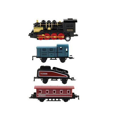 Simulation Steam Small Train Pull-back Car Vehicle Toy for kids