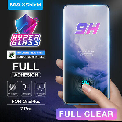 Oneplus 7 Pro Screen Protector Genuine Maxshield 3D Case Friendly Tempered Glass