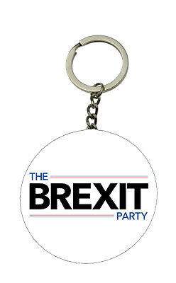The Brexit Party New Key ring Bottle Opener Keyring 58 mm Keychain Leave The EU