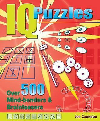 """AS NEW"" Arcturus Publishing, IQ Puzzles, Book"