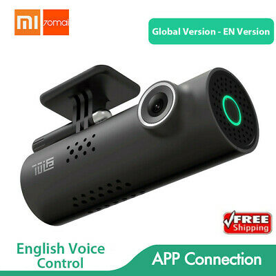 Xiaomi 70mai WiFi Dash Cam Smart Car DVR International Version 1080P -Midnight