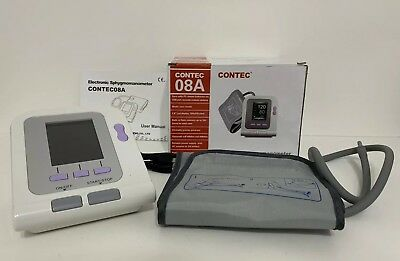 FDA&CE CONTEC08A Digital Upper Arm Blood Pressure Monitor Adult BP cuff+Software