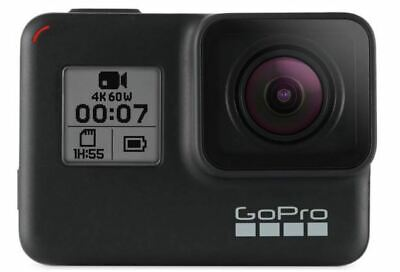 GoPro Hero7 Black 4K Ultra HD Camera NEW and SEALED UK only