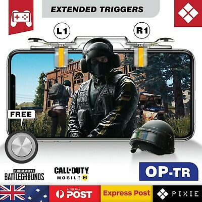 Extended Mobile Phone Gaming Shooting Aim Triggers Button L1R1 for PUBG Fortnite