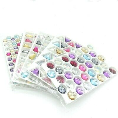 Sew on Flatbacks Resin Rhinestones Sewing Buttons Loose Beads Jewelry Making