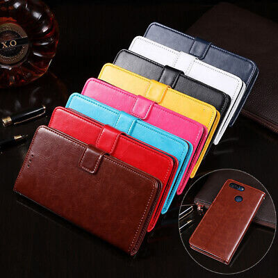 For ZTE Blade V9 Vita A530 A606 V7 Plus Magnetic Leather Flip Wallet Case Cover