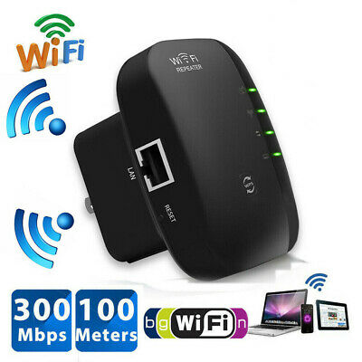 300Mbps WiFi Blast Wireless Repeater Wireless Router Extender Signal Booster CA