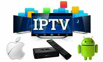 12 MONTH IPTV Subscription ( Firestick, MAG, Android, SmartTV, IOS )
