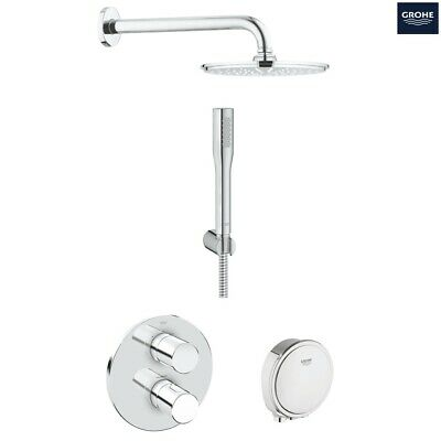 GROHE Grohtherm 3000 Cosmopolitan + Rainshower Shower Solution Pack 4, 118329