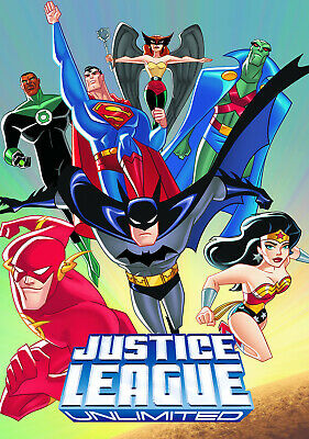 "JUSTICE LEAGUE UNLIMTED ANIMATED SERIES 11""x17"" POSTER PRINT #1"