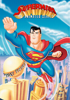 "SUPERMAN THE ANIMATED SERIES 11""x17"" POSTER PRINT #1"