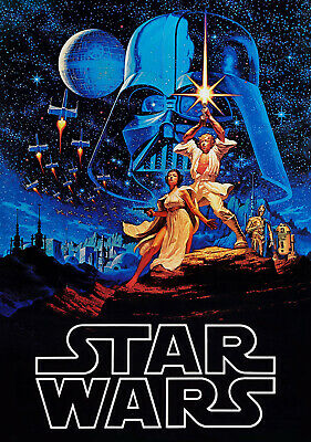 """STAR WARS A NEW HOPE 11""""x17"""" MOVIE POSTER PRINT #13"""