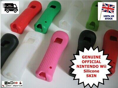 OFFICIAL Nintendo Wii Silicone Covers Gel Skins for Wii Remote Controllers RARE