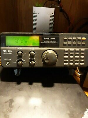 WORKING Radio Shack DX-394 General Coverage Receiver - Good Condition