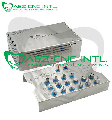 Dental Implant Crown Guide Kit / Implant Drill Guide Kit