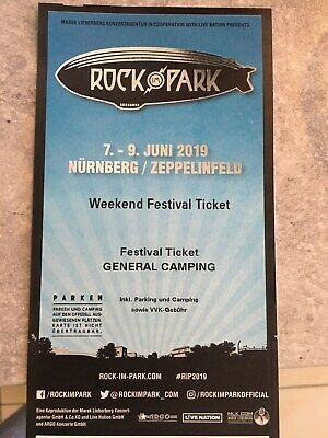 Rock im Park 2019 - Hardcover - Weekend Ticket incl. Camping 07.06.-09.06.