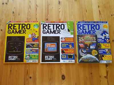 Retro Gamer Volume 2 issue 3, 4, 5. Also known as issue 15, 16, 17