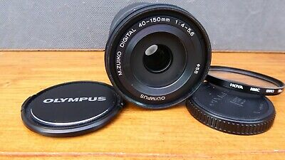 Olympus M.Zuiko Digital 40-150mm f4-5.6 ED Telephoto Zoom Lens - Micro 4/3 -EXC+