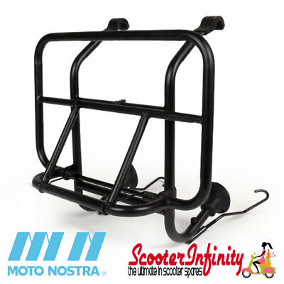 Carrier Rack Front Moto Nostra (Black) Vespa PX, ET3, Rally 180-200, Sprint 150