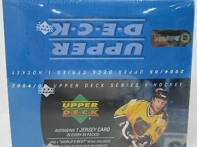 2004-05 Upper Deck Series 1 Hockey Retail Box!