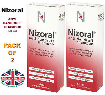 Nizoral ANTI DANDRUFF SHAMPOO 60 ml *BRAND NEW*