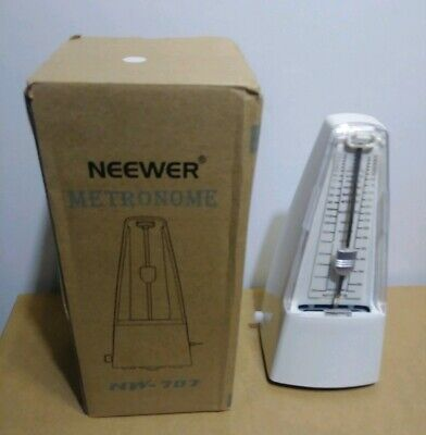 Neewer NW-707 Traditional Wind Up Mechanical Metronome for Piano Guitar Bass