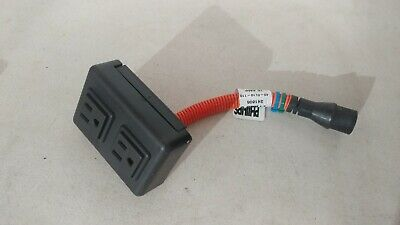 Phillips Air Conditioner Shore Power Wall Box *broken back plate*  06-71658-000