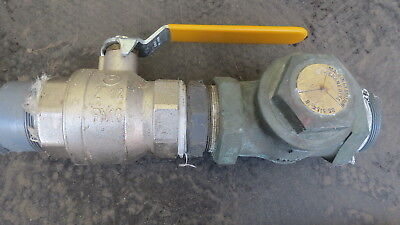 "BRASS 2.1/2"" SWING NON-RETURN VALVE BSP - METAL SEAT 2 1/2"" ref A"