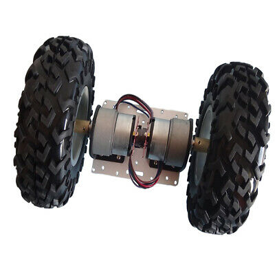 2WD Smart Robot Car Chassis Kit with Motors, Encoder for Arduino DIY Learner