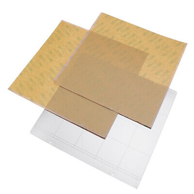 MK52 Hot Bed Iron Plate 253.8*241mm with 2pcs Adhesive PEI for 3D Printer