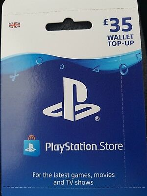 Playstation Store £35 Wallet Top Up