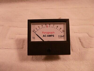 Sifam Panel Meter Scaled Pyrograph 10A ac 48x42mm