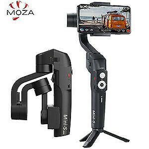 New Moza Mini-S Gimbal for Mobile Phones w/Tripod