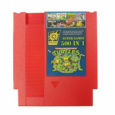 NES multi Cartridge classic games for Nintendo Entertainment System (500 in 1)