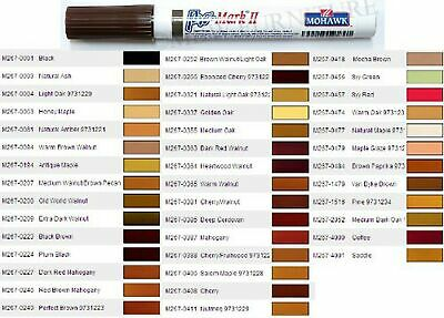 Mohawk Pro-Mark II Touch-Up Marker - Black Brown