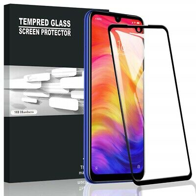 PELLICOLA VETRO TEMPERATO 3D FULL per DISPLAY CURVO per XIAOMI REDMI 7 / NOTE 7