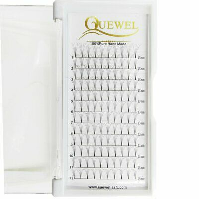 Russian Volume Premade Fans Eyelashes Extension 5D 6D Thickness
