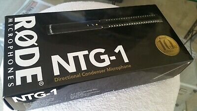 Rode Ntg1 Condenser  Microphone Like New....