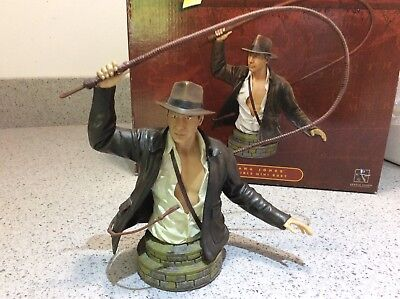 INDIANA JONES (Raiders of Lost Ark) Gentle Giant Collectable Mini Bust 2934/5000