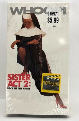 Sister Act 2: Back in the Habit (VHS, 1994) Whoopi Goldberg New Sealed