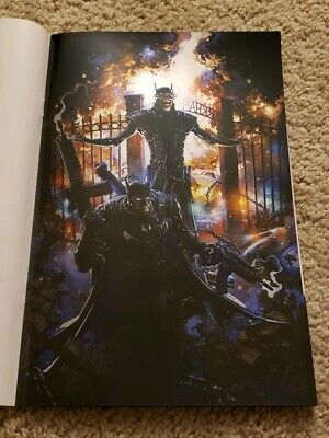 Batman Who Laughs 1 Clayton Crain Exclusive Foil Virgin Variant C2E2 Scorpion