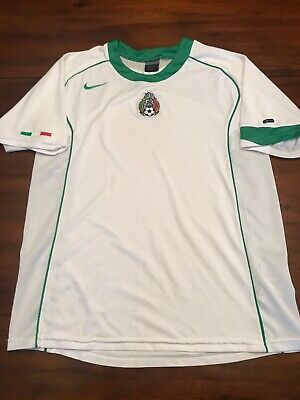 ecfe37ebf31 VINTAGE NIKE MEXICO National Team World Cup Futbol Soccer Jersey ...