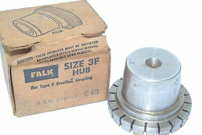 NEW Falk (Rexnord) 0209013 Grid Coupling Hub - Cplg Size: 3F, Bore: Rough Stock