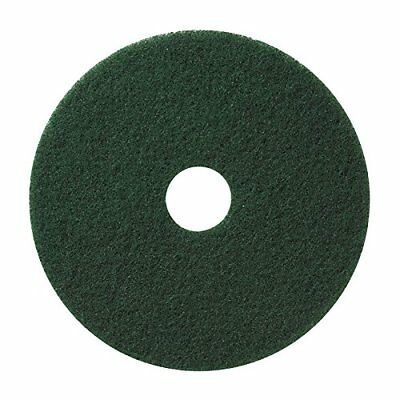 "Microtron Emerald Stripping Pad, 14"", Green (Pack of 4), Abrasive, NEW"