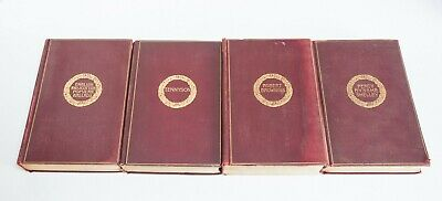 Lot of 4 Cambridge Edition of The Poets Tennyson Browning Shelley Hardcover