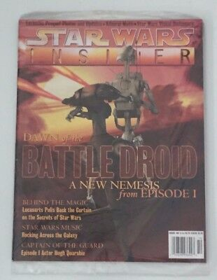Star Wars Insider Issue # 40 Dawn of the Battle Droid Episode I  New in Plastic