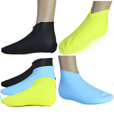 Silicone Overshoes Rain Waterproof Shoe Cover Boot Protector Recyclable Non-Slip