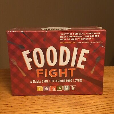 Foodie Fight : A Trivia Game for Serious Food Lovers 1000 Questions Joyce Lock